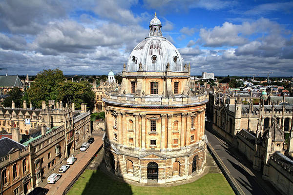 Oxford Library And Spires Poster