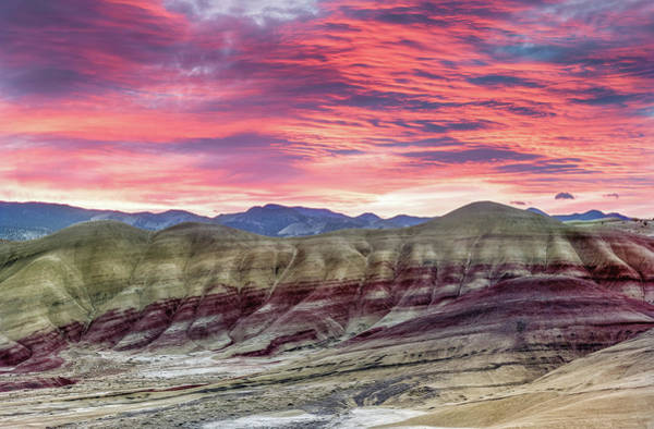 Painted Hills Sunrise Poster