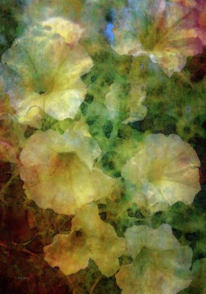 Pale Petunias 5146 Idp_2 Poster