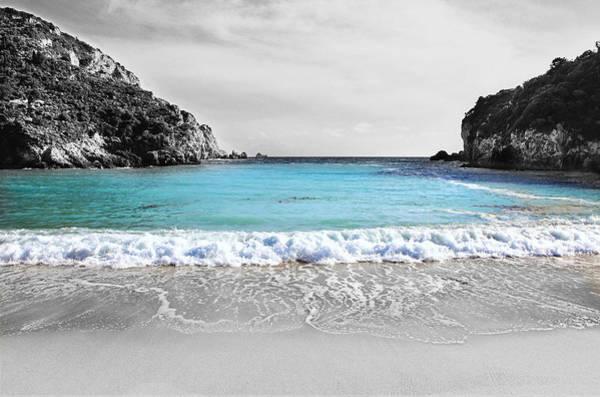 Paleokastritsa Beach Corfu Poster