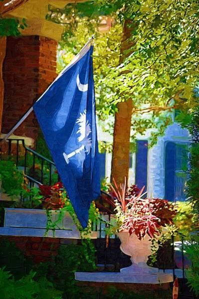 Palmetto Flag Poster
