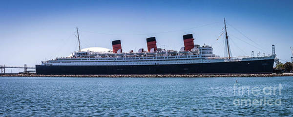 Panorama Of The Queen Mary Poster
