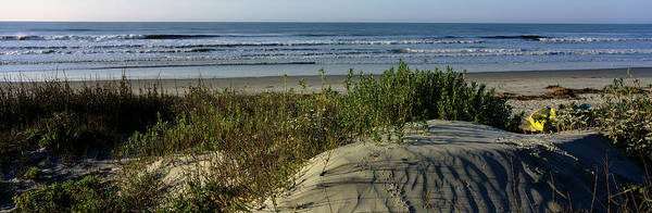 Panoramic View Of A Beach, Kiawah Poster