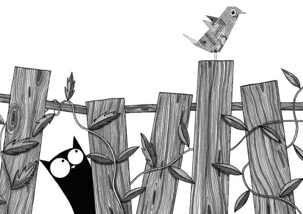 Paper Bird Poster