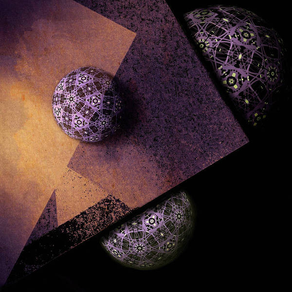 Poster featuring the digital art Paragon by Susan Maxwell Schmidt