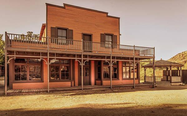 Paramount Ranch Saloon Poster
