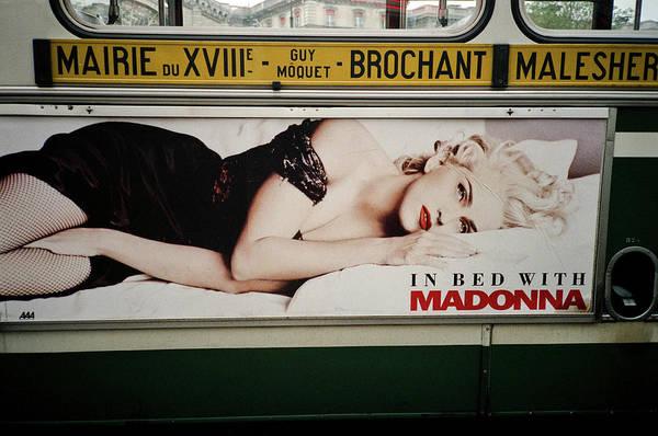 Paris Bus Poster
