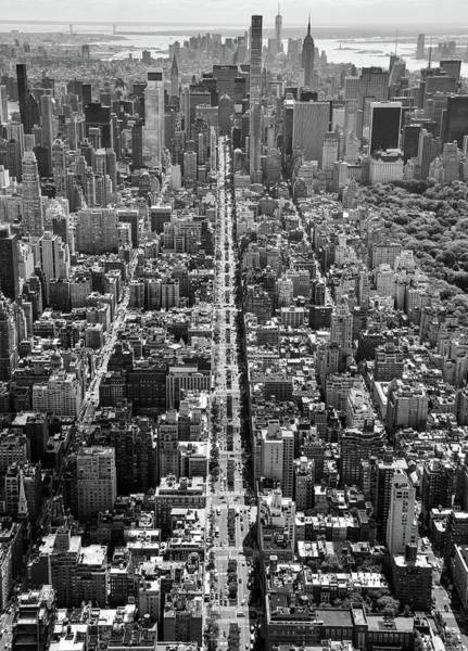 Poster featuring the photograph Park Avenue Aerial by Rand