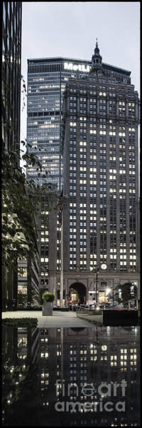 Poster featuring the photograph Park Avenue Met Life Nyc by Juergen Held