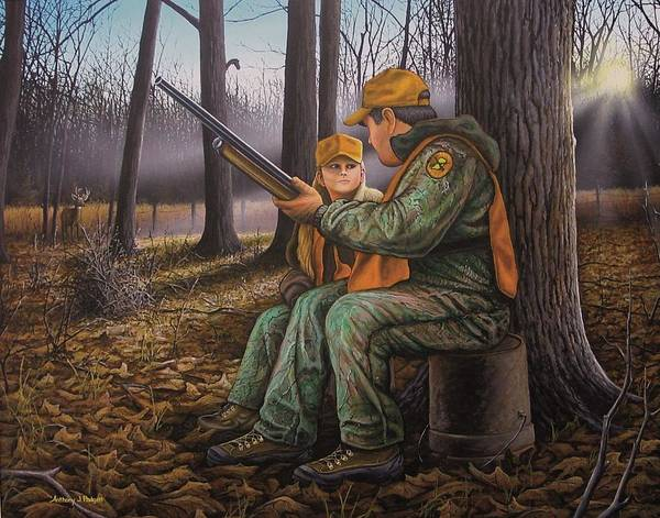 Pass It On - Hunting Poster