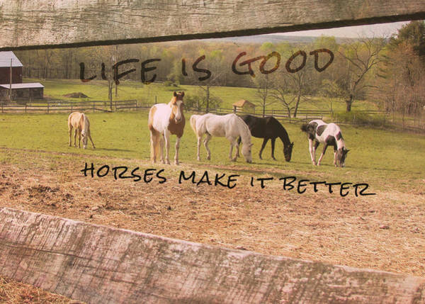 Pasture Friends Quote Poster