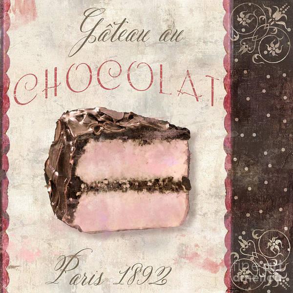 Patisserie Gateau Au Chocolat Poster