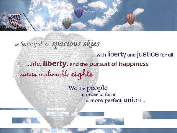 Patriotic Art I Poster