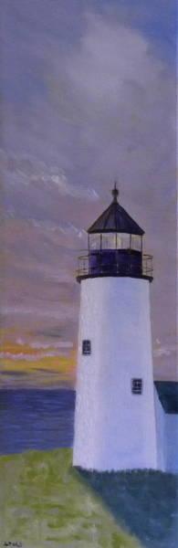 Pemaquid Light Morning Light Poster