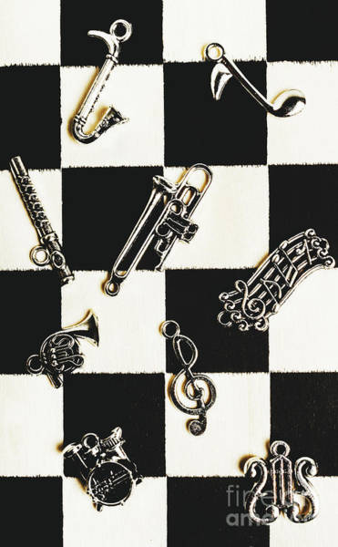 Pendant Musical Concerto Poster