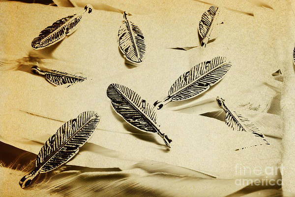 Pendants And Quills Poster