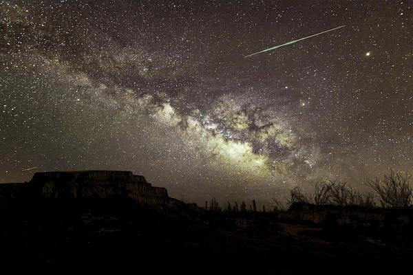Perseids Milky Way Poster