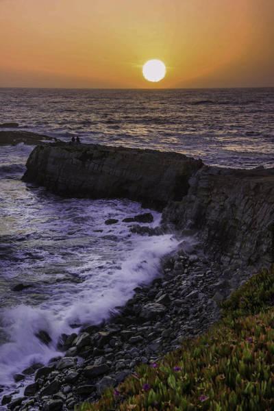 Pescadero Sunset Poster