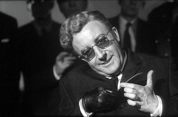 Peter Sellers As Dr. Strangelove Number One Color Added 2016 Poster