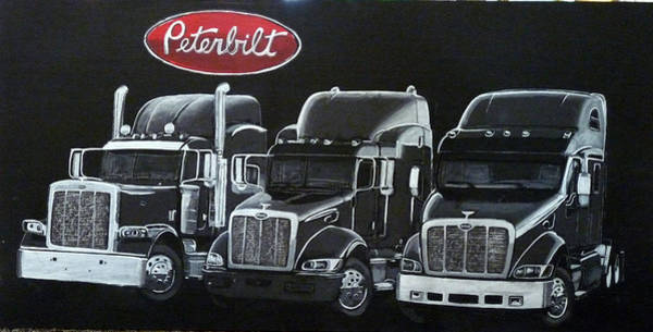 Peterbilt Trucks Poster