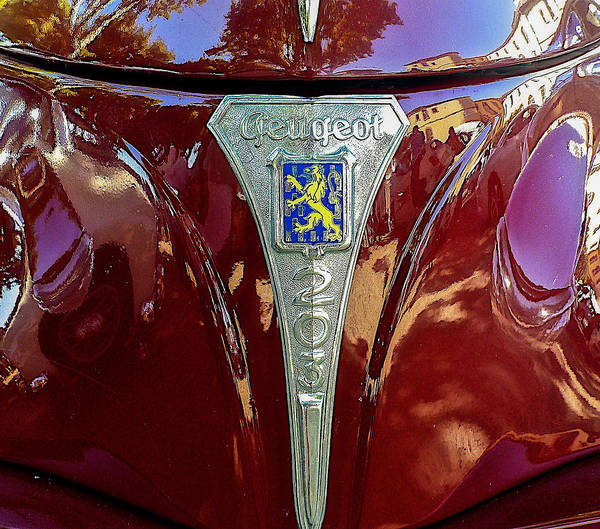 Peugeot 203 Poster
