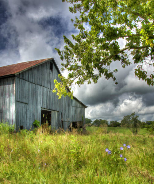 Poster featuring the photograph Phillip's Barn #2 by Sam Davis Johnson