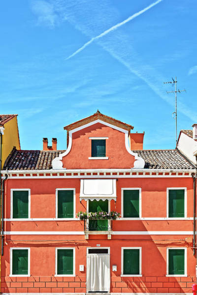 Picturesque House In Burano Poster