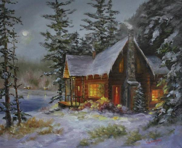 Pine Cove Cabin Poster