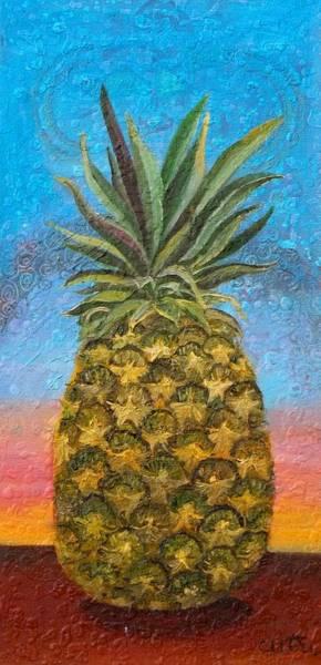 Pineapple Sunrise Or Pineapple Sunset Poster