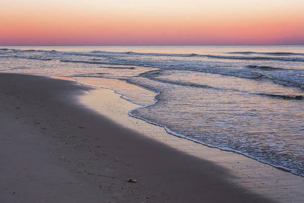 Pink Glow Seaside New Jersey 2017 Poster