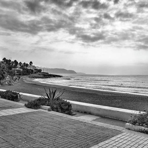 Playa Burriana, Nerja Poster
