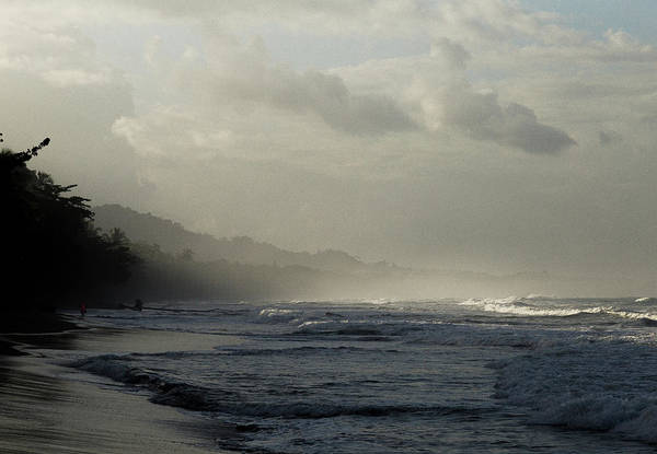 Playa Negra Beach At Sunset In Costa Rica Poster