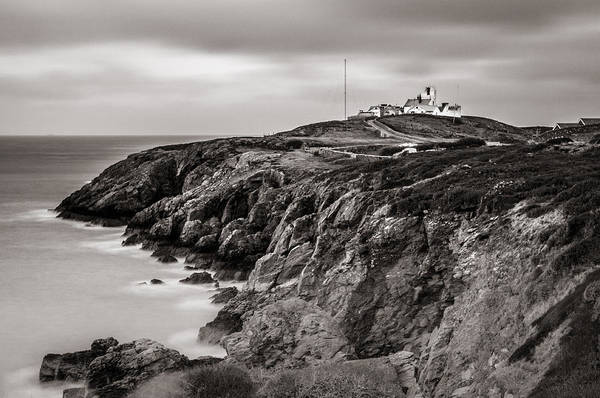 Point Lynas Lighthouse In Llaneilian On Anglesey Poster