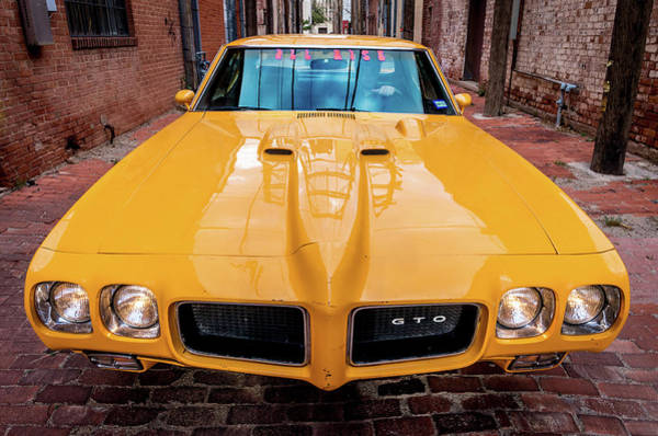 Pontiac Muscle Poster