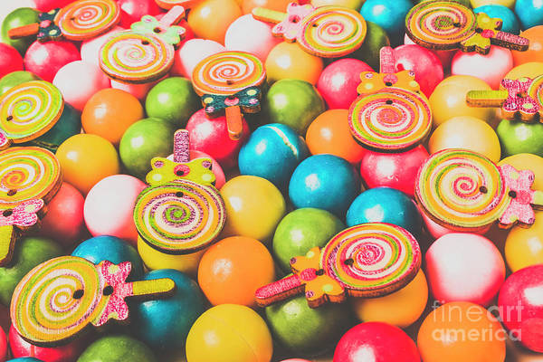 Pop Art Sweets Poster