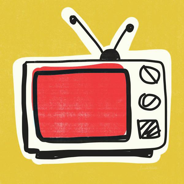 Pop Art Tv- Art By Linda Woods Poster