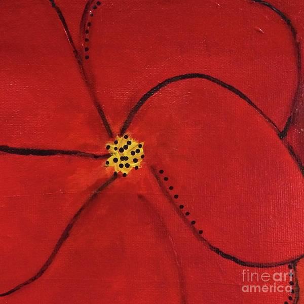 Poppy Dots Poster