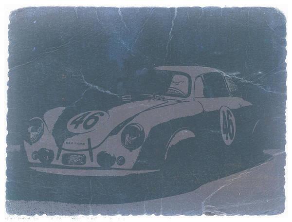 Porsche 356 Coupe Front Poster