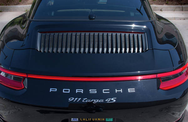 Porsche 911 Targa 4s Poster