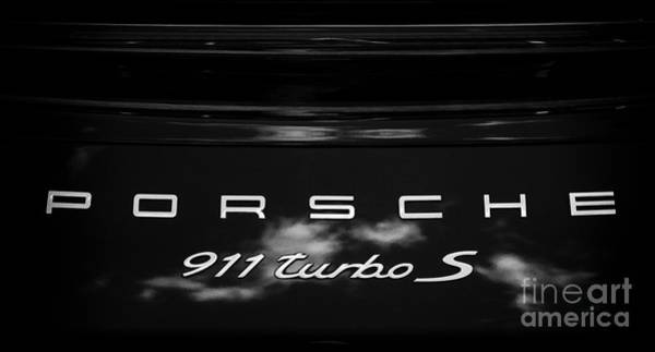 Porsche 911 Turbo S Poster