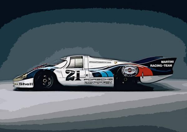 Porsche 917 Longtail 1971 Poster