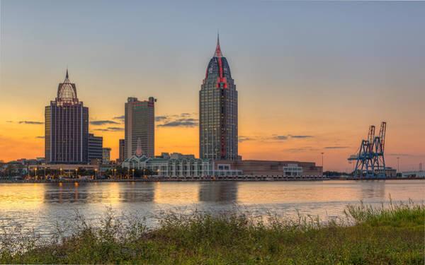 Port City Sunset 2 Poster