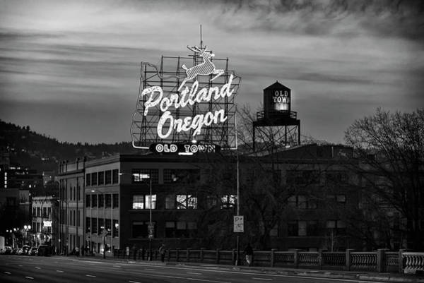 Portland Signs Poster