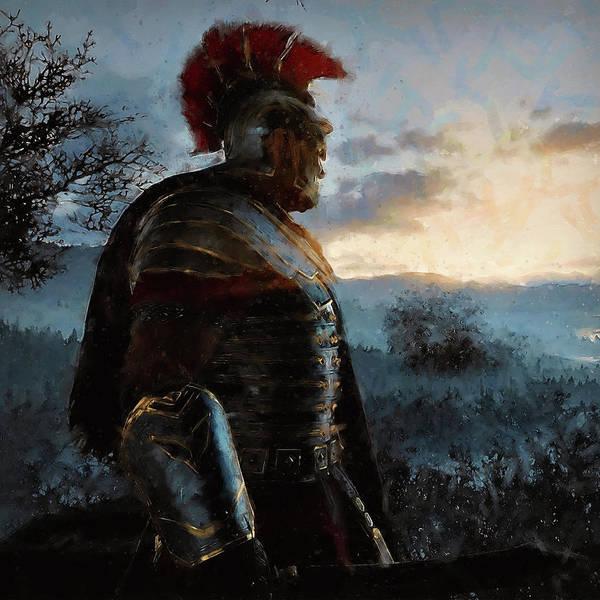 Portrait Of A Roman Legionary - 34 Poster