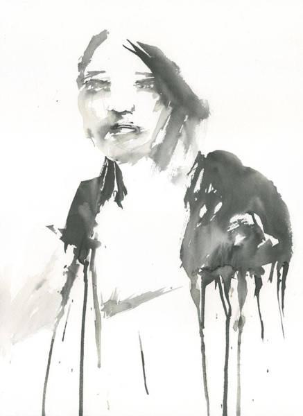 Portrait Of A Singer Poster