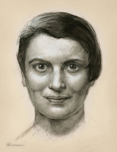 Portrait Of Ayn Rand Poster