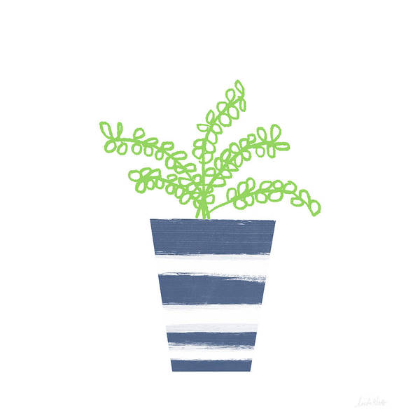 Potted Plant 1- Art By Linda Woods Poster