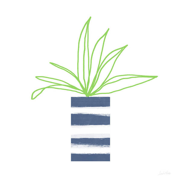 Potted Plant 2- Art By Linda Woods Poster