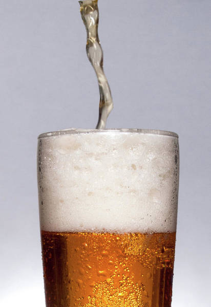 Pouring Beer Poster