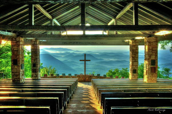 Pretty Place Chapel The Son Has Risen Blue Ridge Mountain Art Poster